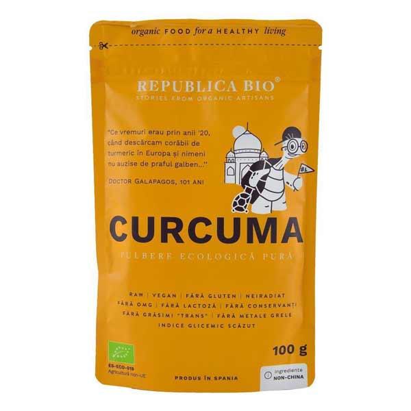 Curcuma pulbere turmericul Republica Bio