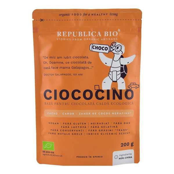 Ciocolata calda ecologica Ciococino Republica Bio