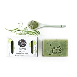 sapun natural green poppy 100 gr
