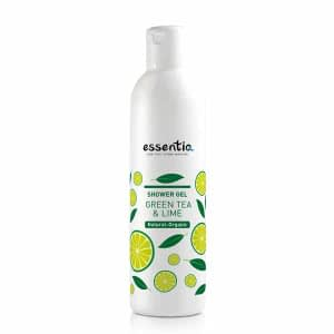 Gel de dus natural ceai verde si lime