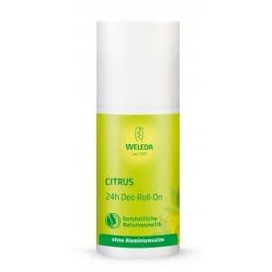 Deodorant roll on citrus weleda