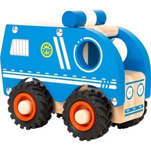 Masina de politie din lemn Small Foot