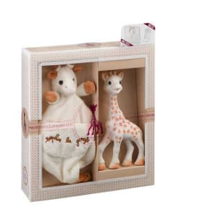 Set SOPHIEsticat Girafa Sophie cu batistuta