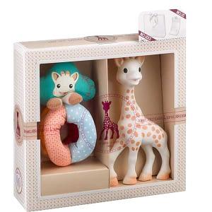 Set SOPHIEsticat Girafa Sophie si zornaitoare cu bile Vulli