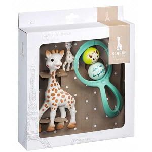 Vulli Set cadou Girafa Sophie, zornaitoare Swing si breloc