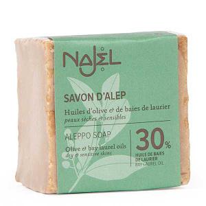 Sapun de Alep traditional cu 30% ulei de dafin Najel