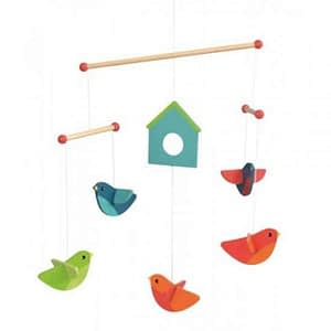 Decoratie mobila lemn pasari Egmont Toys