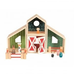 Ferma modulara din lemn Egmont Toys