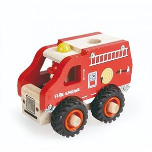 Masina de pompieri din lemn Egmont Toys