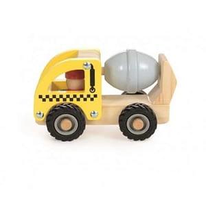 Masina de santier betoniera din lemn Egmont Toys