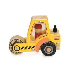 Masina de santier din lemn compactor Egmont Toys