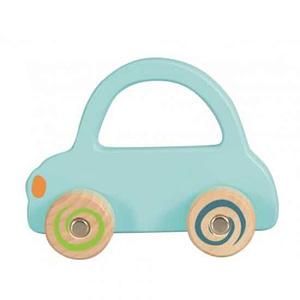 Masina lemn albastru deschis Egmont Toys
