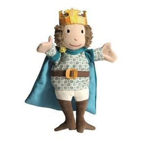 Papusa de mana regele Egmont Toys