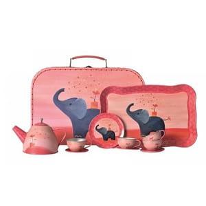 Set de ceai rosu elegant Egmont Toys