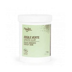 Argila verde frantuzeasca Najel