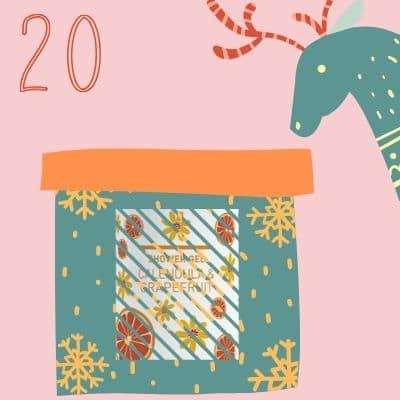 20 decembrie gel de dus cadou