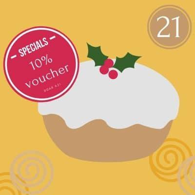 21 decembrie voucher de 10% cadou