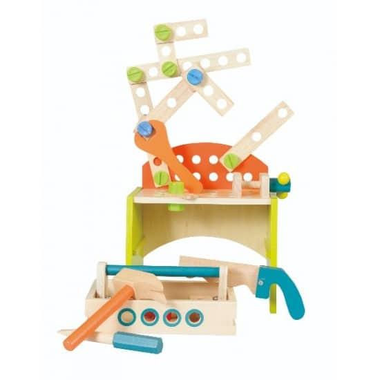 Banc de lucru cu unelte Egmont Toys