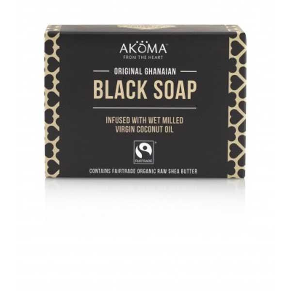 Sapun negru african autentic Akoma