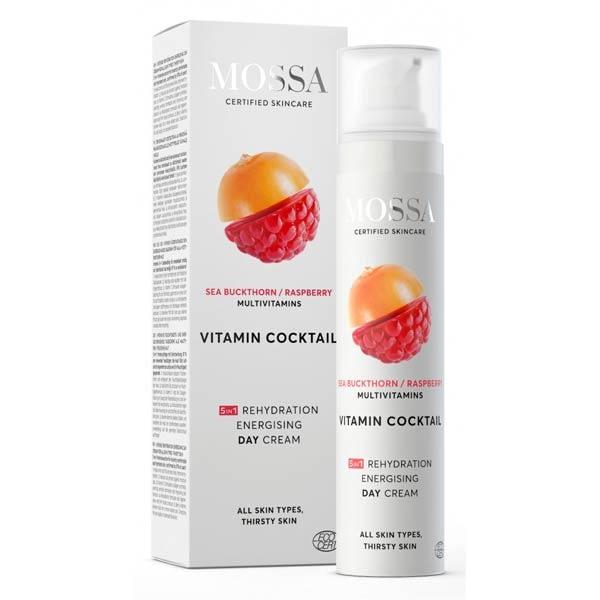 Crema hidratanta de zi energizanta Mossa