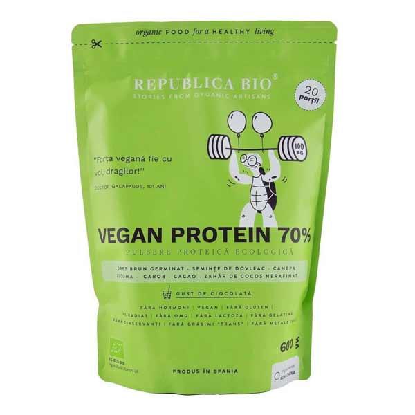 Proteina vegetala pulbere bio Republica Bio
