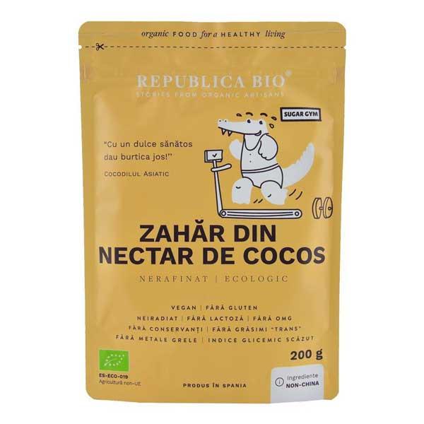 Zahar de cocos bio Republica Bio