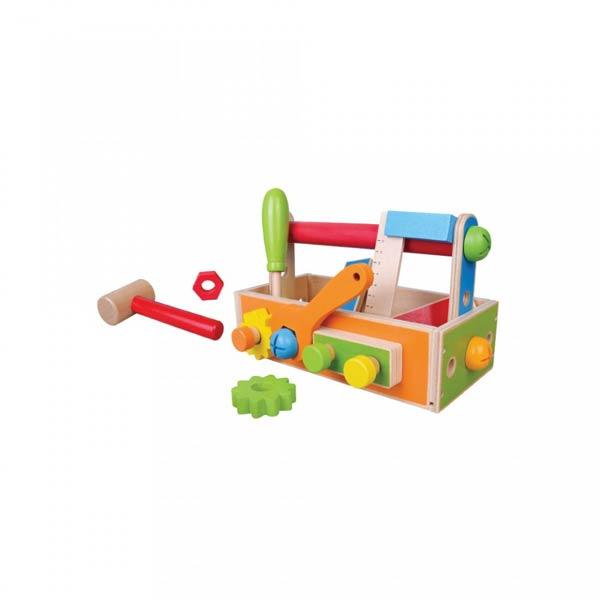 Jucarie cutie cu unelte set 20 piese, 3+ ani